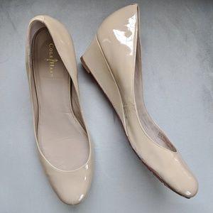 Cole Haan Air Talia Nike Air nude wedge shoes